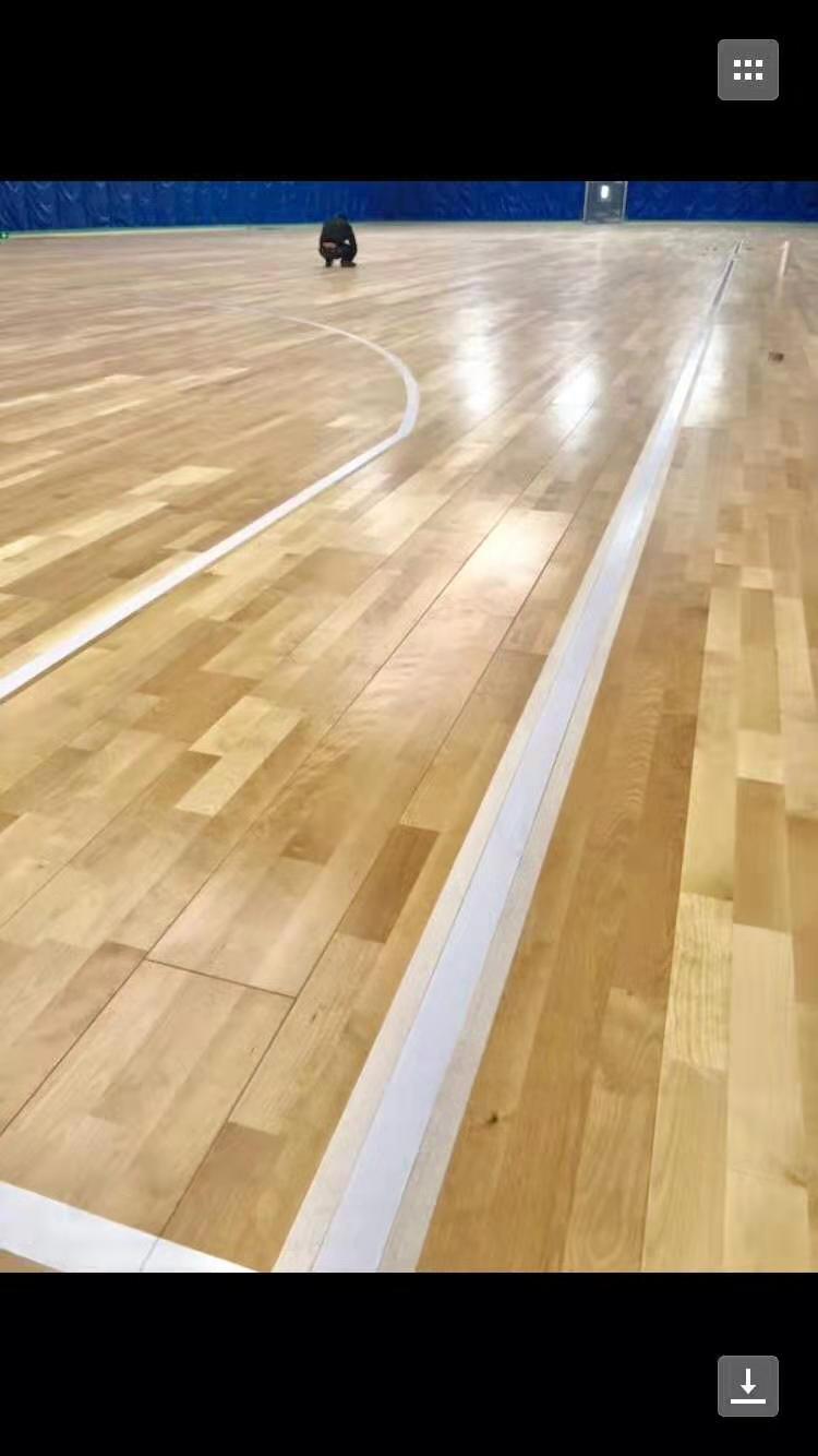 开封硬木企口体育馆木地板