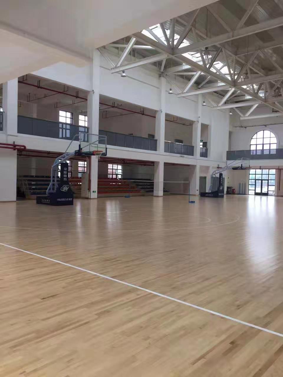 濮阳硬木企口体育馆木地板