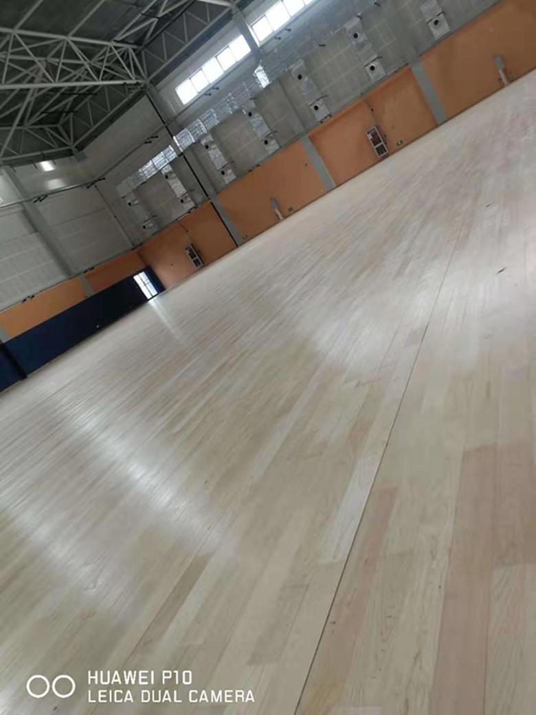 潮州硬木企口体育馆木地板报价