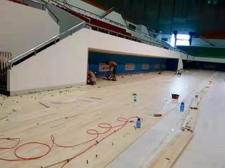 恩施硬木企口体育馆木地板