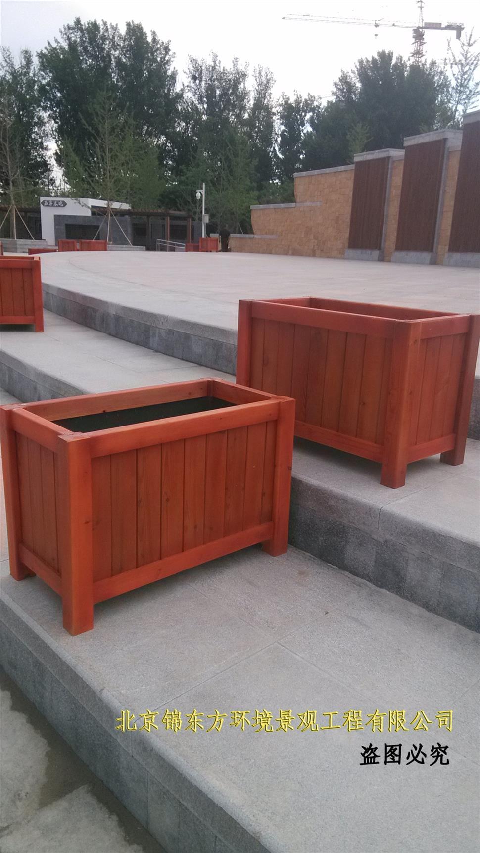 北京防腐木花箱供应商