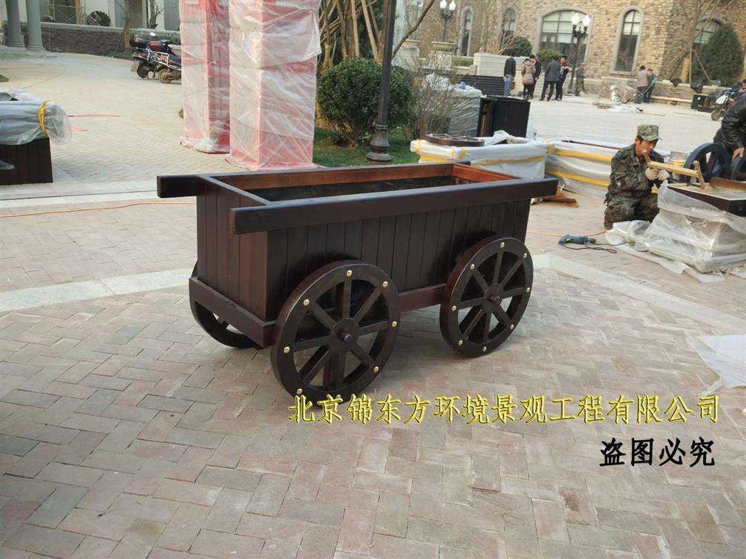 防腐木花箱生产商