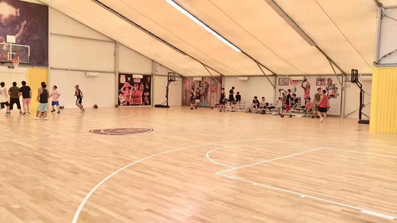 普洱体育馆木地板