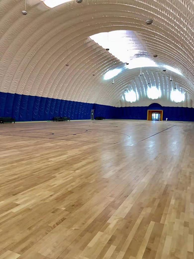阿坝剧院室内运动场木地板