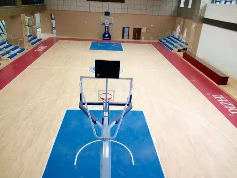 贵州实木体育场木地板