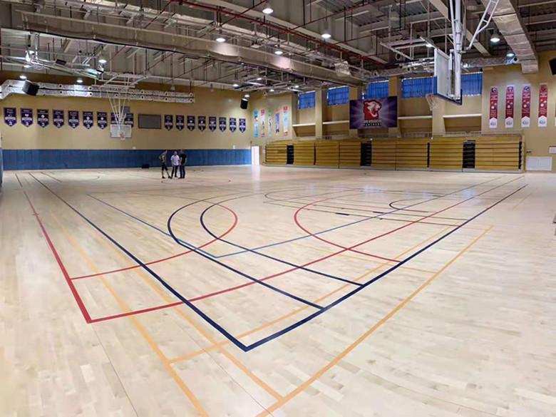 泰安体育馆木地板