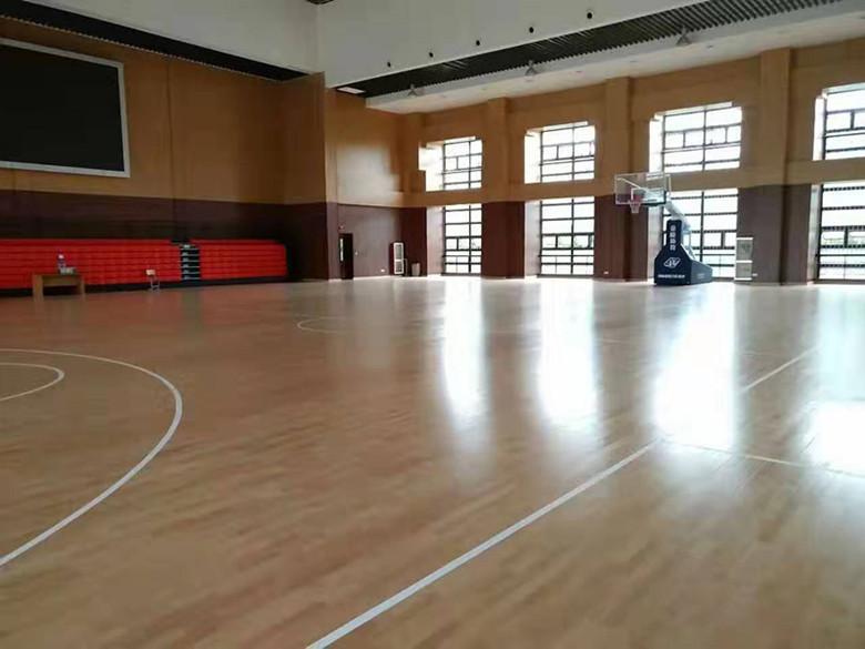 晋中体育馆木地板
