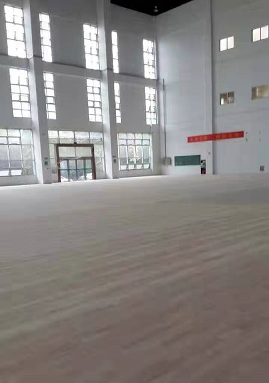山东柞木体育场木地板
