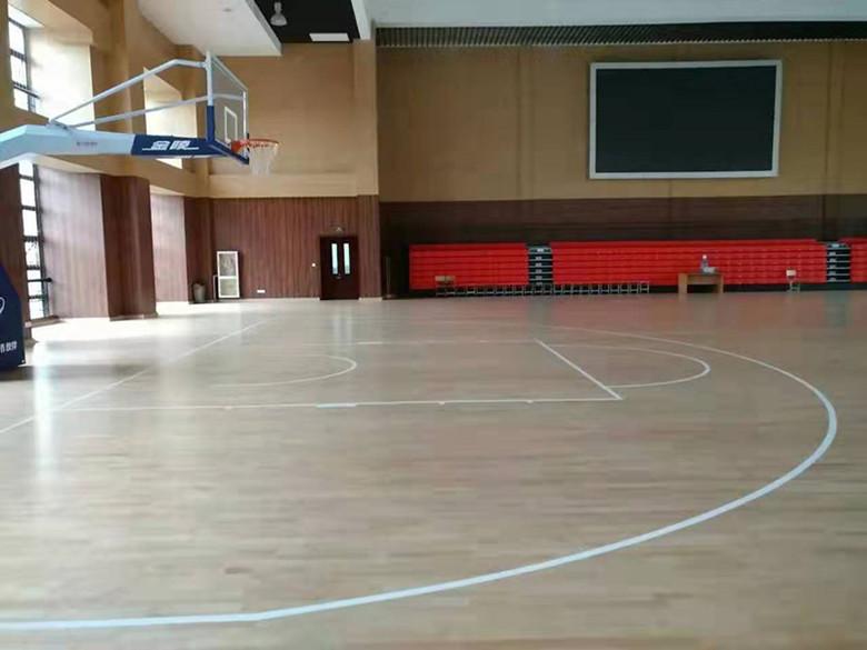 陇南柞木体育场木地板