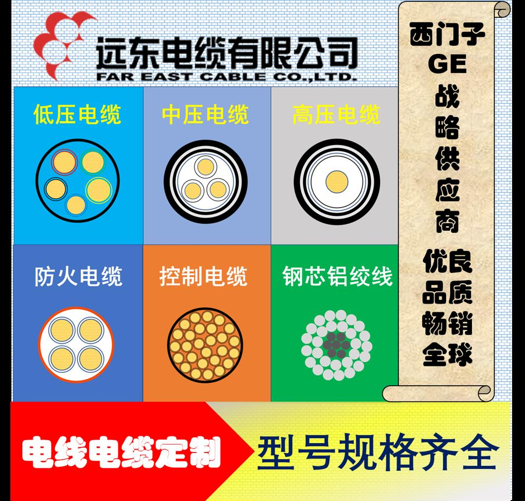 阻燃耐火电缆型号