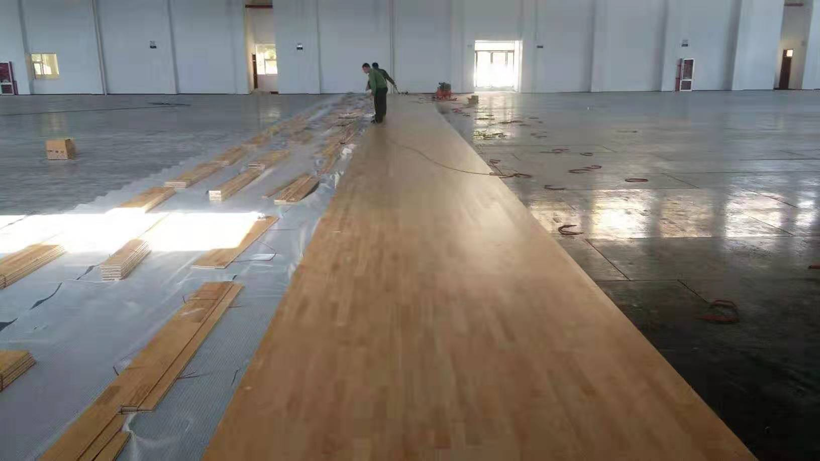 北海板式运动木地板厂