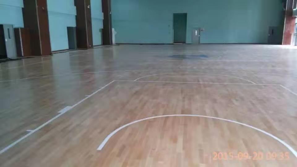 赤峰实木运动木地板厂