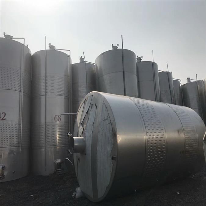 二手15吨不锈钢储存罐储罐厂家直销