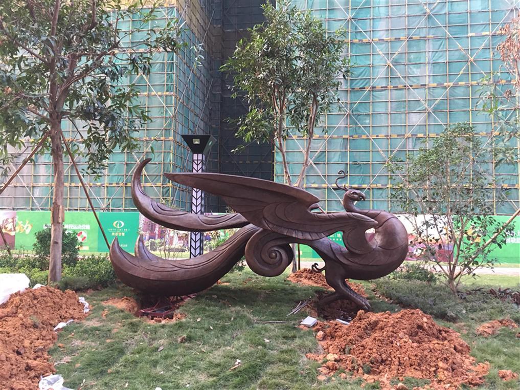 北京抽象不锈钢雕塑制作