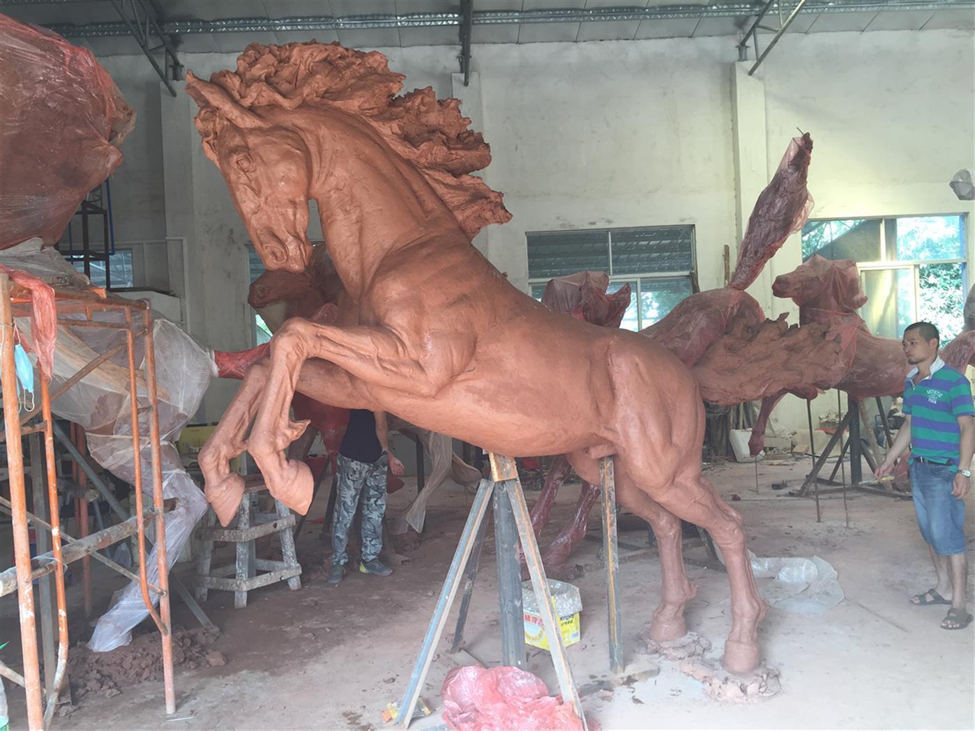 黄冈马雕塑公司