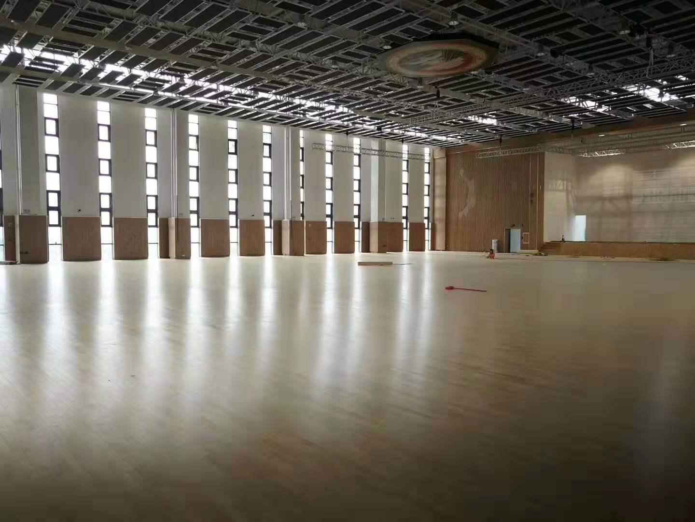 包头舞台木地板生产