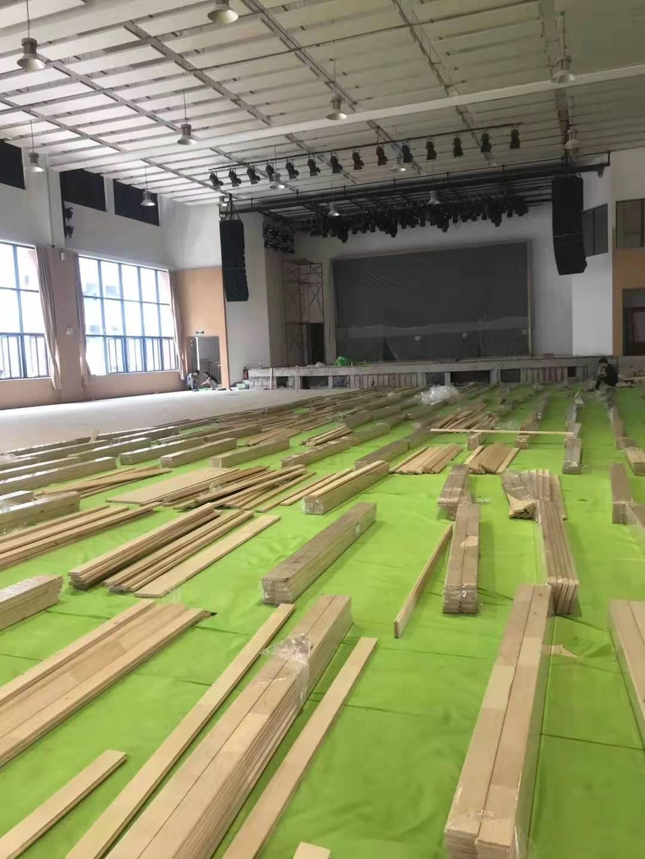 安康舞台木地板生产