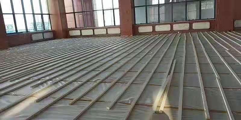 潮州舞台木地板施工