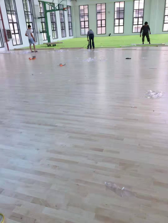 海西舞台木地板生产