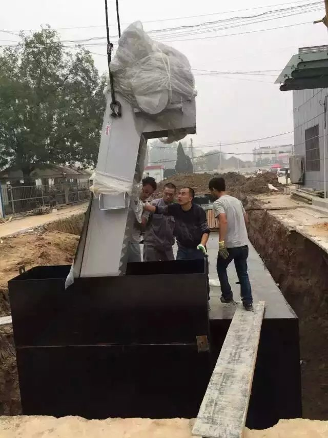 嘉兴机械格栅