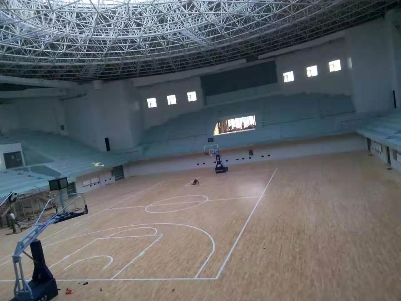 吴川羽毛球木地板