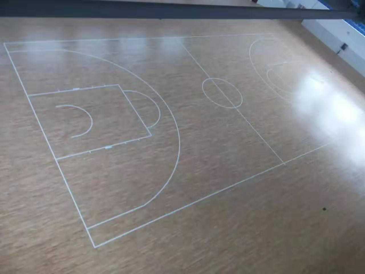 攸县羽毛球木地板