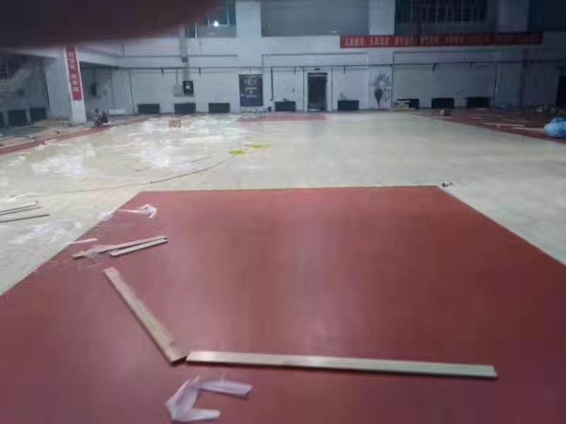 翁源羽毛球馆木地板