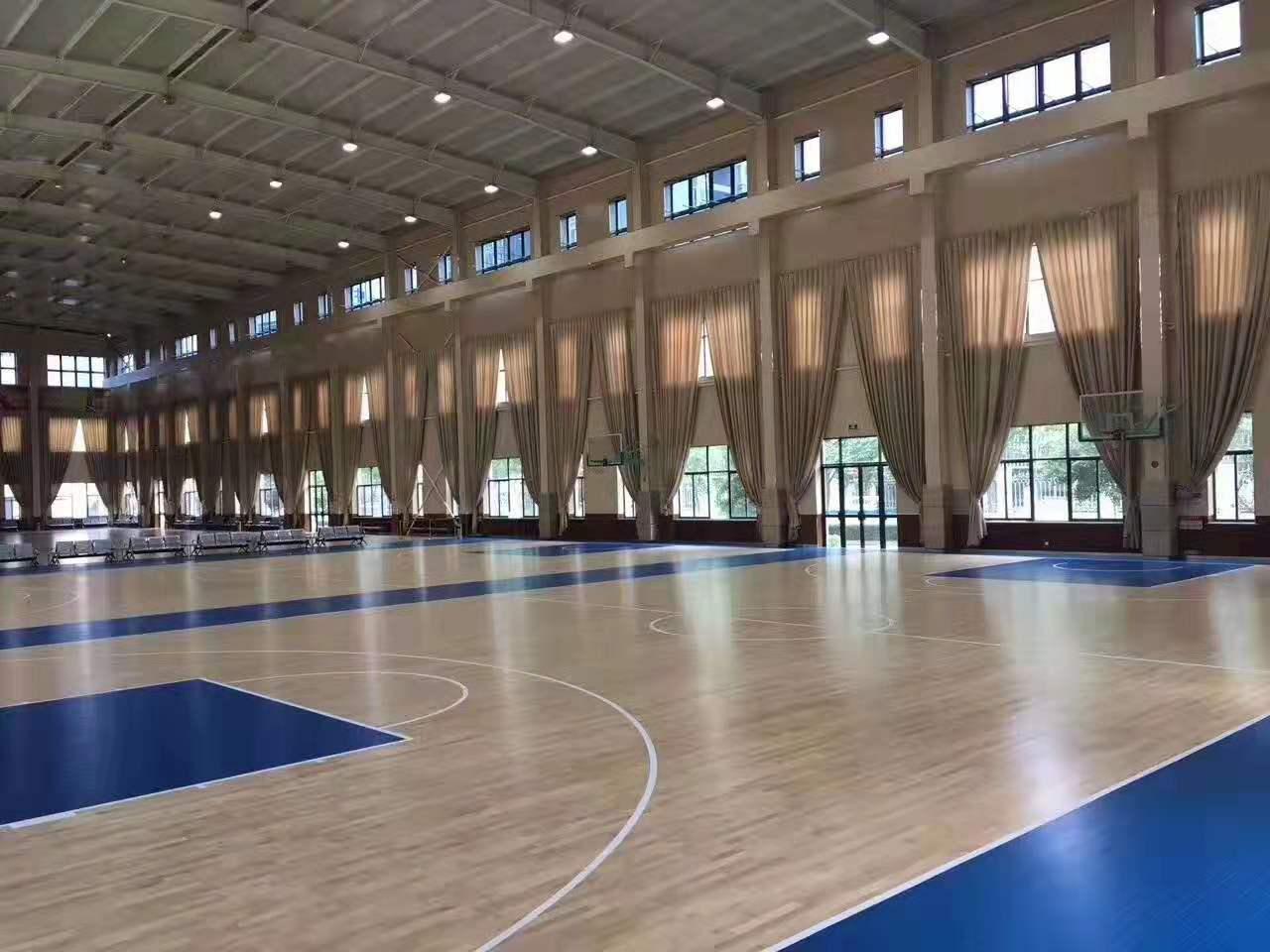 沅江市羽毛球馆木地板
