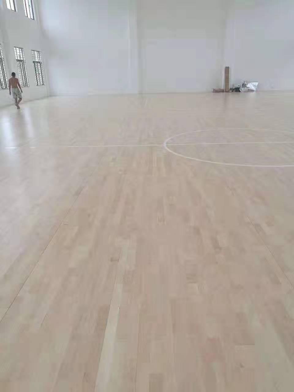 会同羽毛球馆木地板