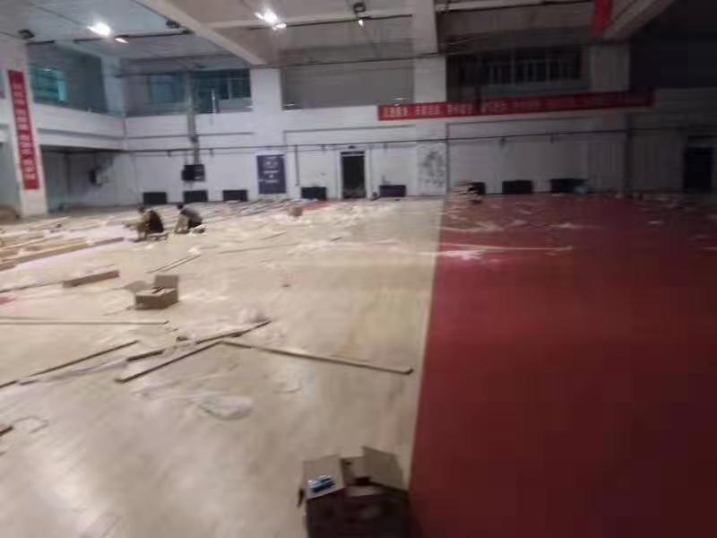 赤峰羽毛球馆运动木地板