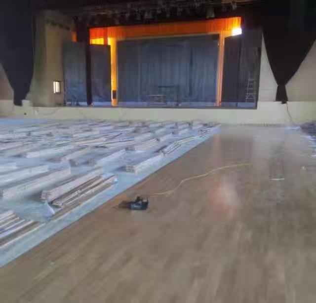 铜川体育羽毛球木地板