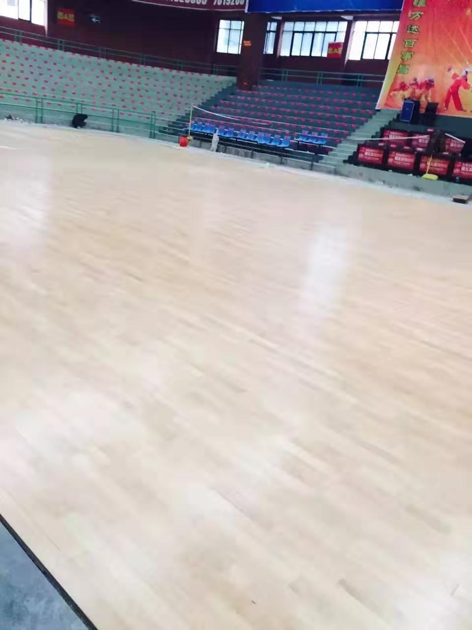 邵阳羽毛球馆木地板