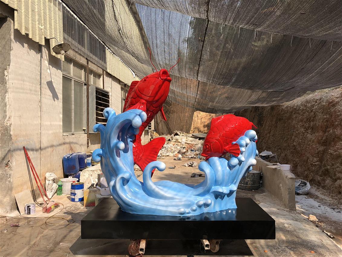 菏泽动物雕塑