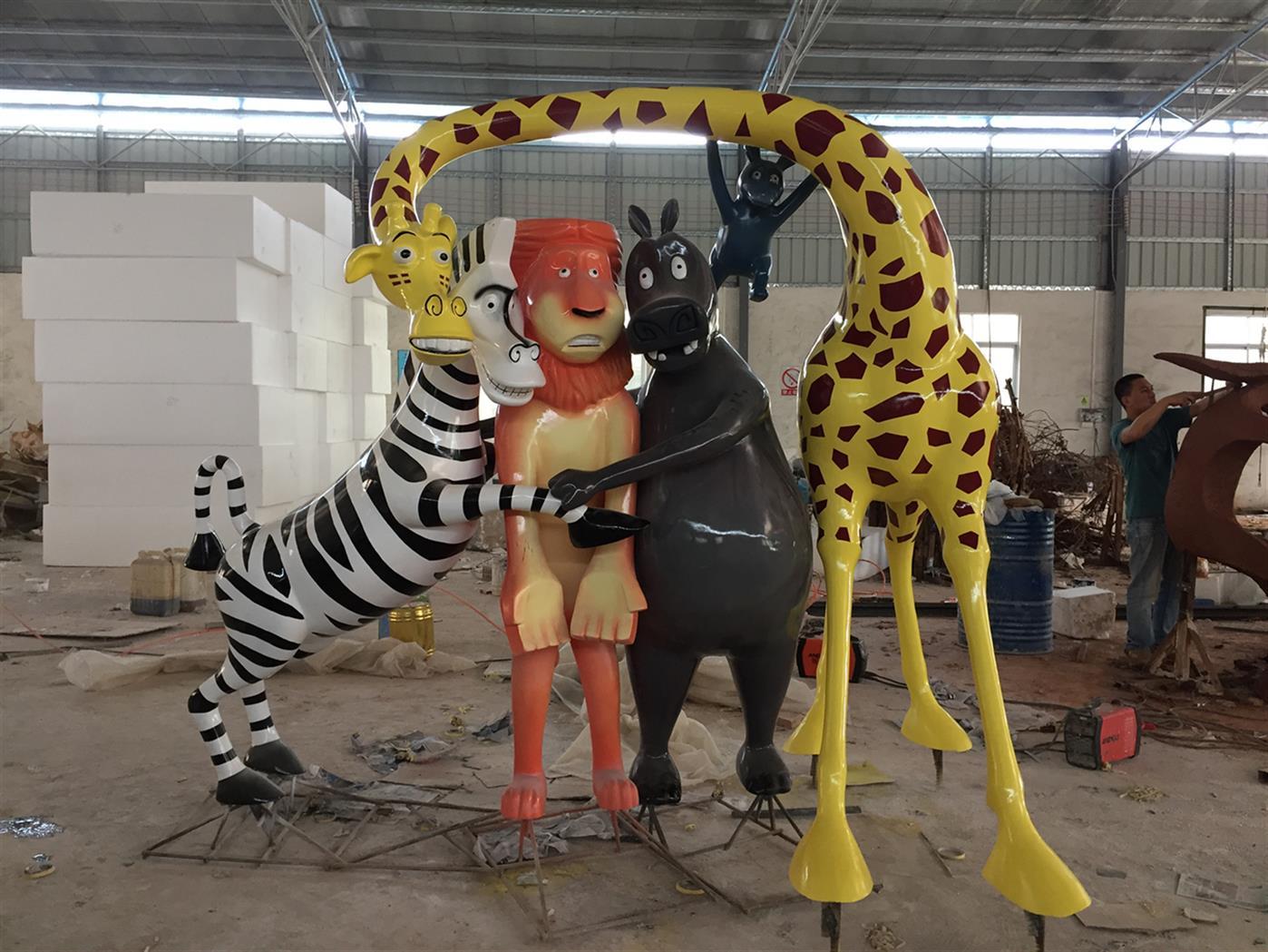 海口动物雕塑加工