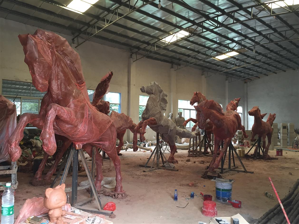 湖州马雕塑厂
