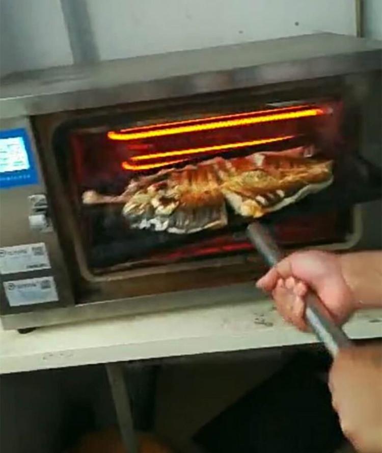 宜春玖子仟弘电烤鱼箱商用厂家直销批发价