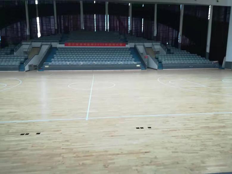 福建橡胶木运动木地板