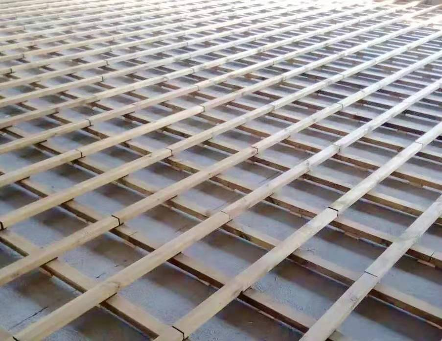 淮北橡胶木运动木地板