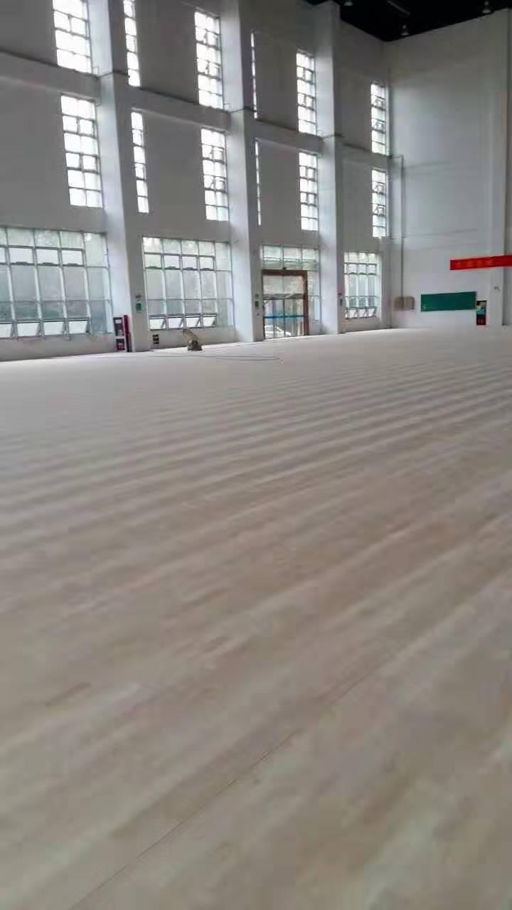 临沂橡胶木运动木地板