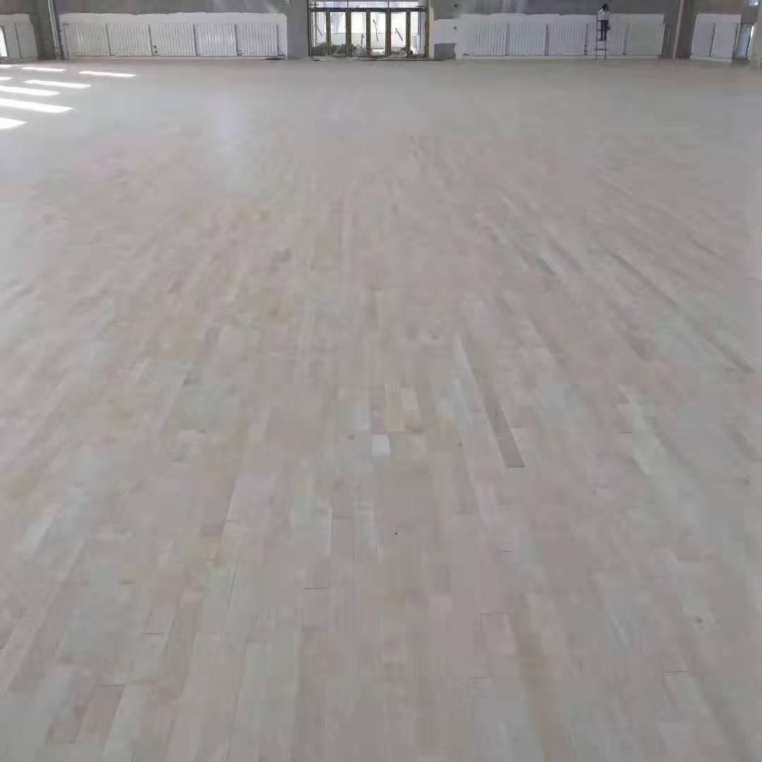 广西橡胶木运动木地板