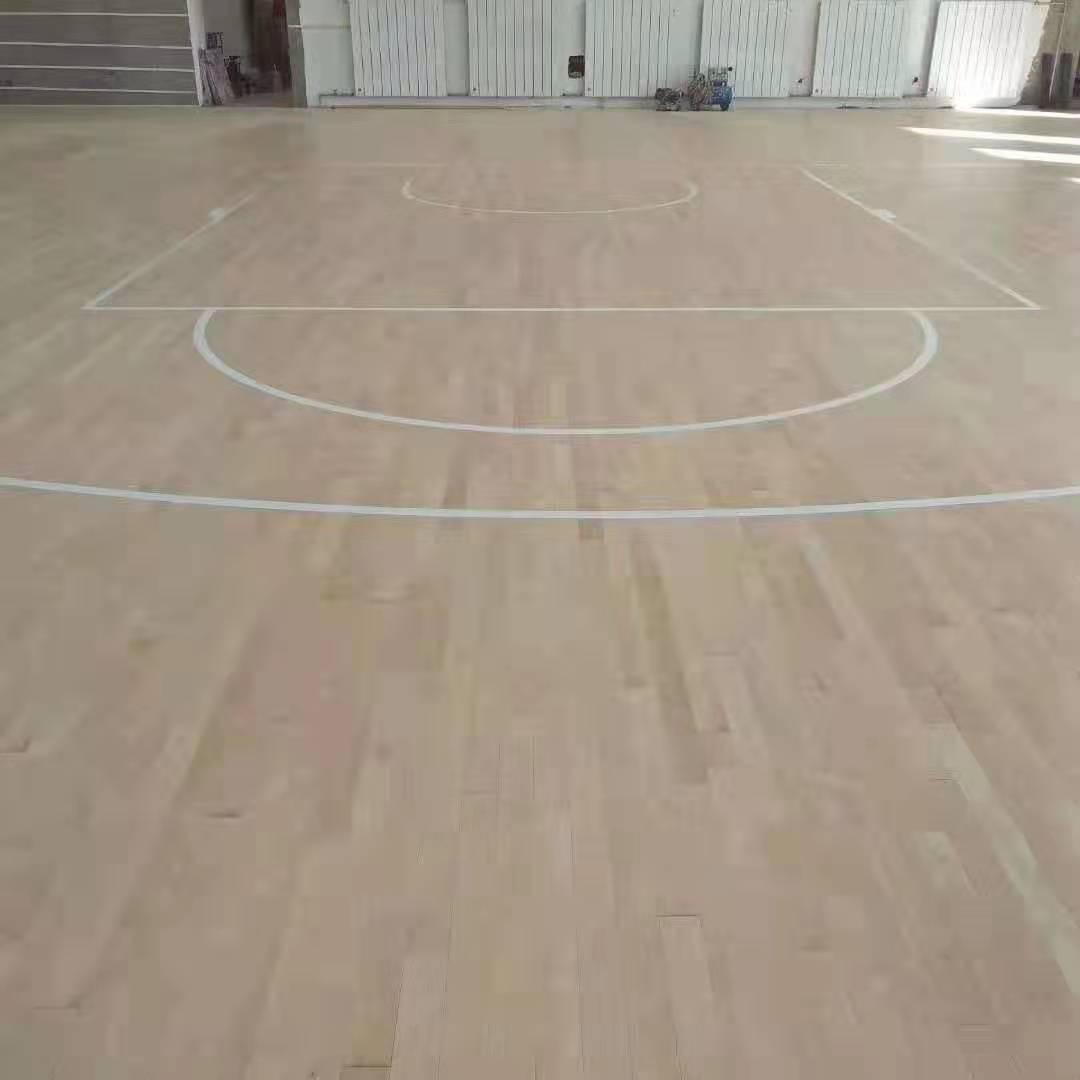 衡阳橡胶木运动木地板
