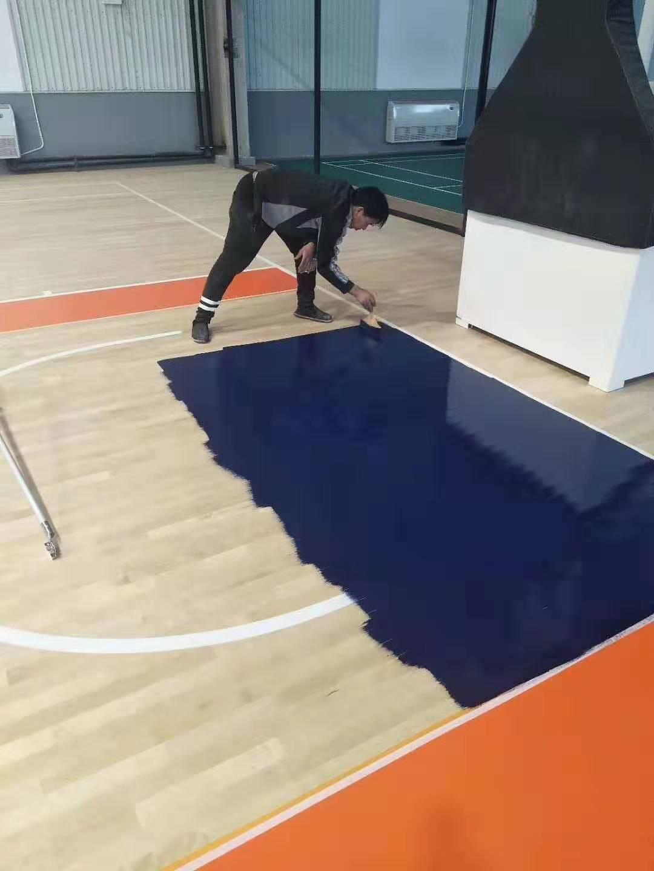 黄南学校橡胶木体育地板包安装
