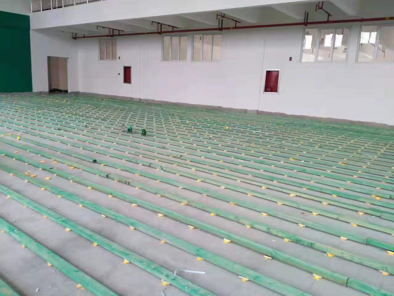 蚌埠篮球馆体育馆运动木地板翻新厂
