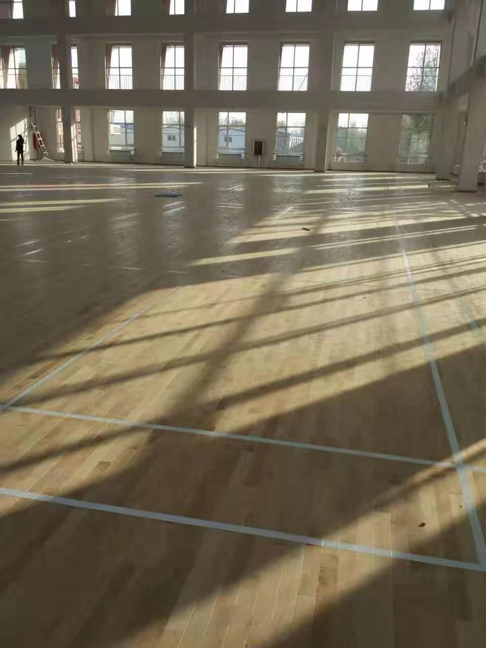 惠州学校橡胶木体育地板批发价