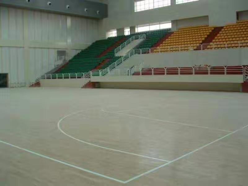 惠州学校橡胶木体育地板包安装