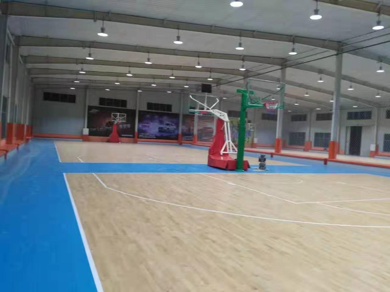 常德学校橡胶木体育地板包安装
