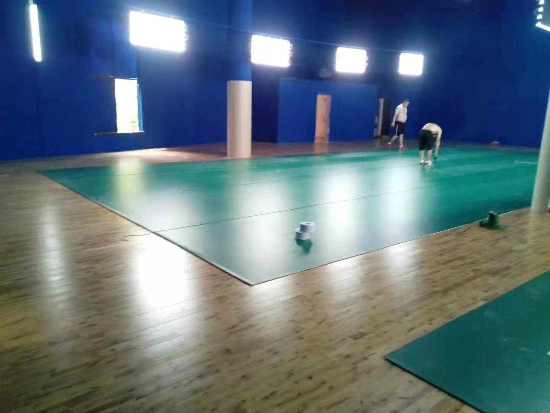 广东学校橡胶木体育地板包安装