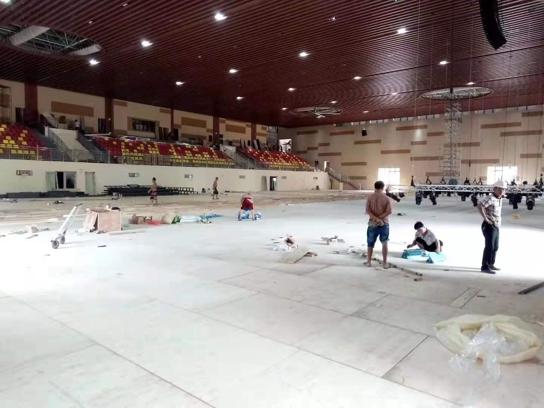 乌海三秒区体育馆运动木地板翻新厂