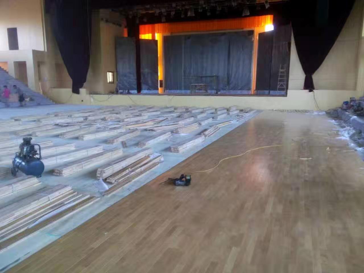 衢州三秒区体育馆运动木地板翻新厂