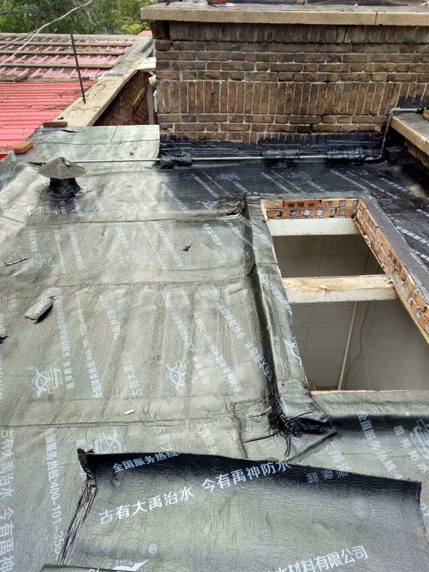 屋顶防水施工视频